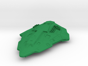 1/700 Space Ship Python in Green Processed Versatile Plastic