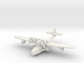 Douglas Dolphin 1/285 6mm (In flight) in White Natural Versatile Plastic