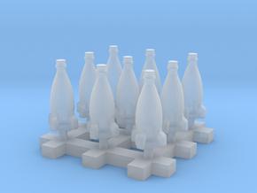 Rocket Bottle 9x 1:58 28mm Scale in Smoothest Fine Detail Plastic