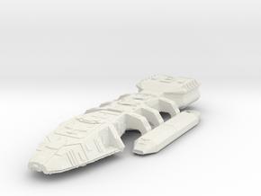 Battlestar Galactica in White Natural Versatile Plastic