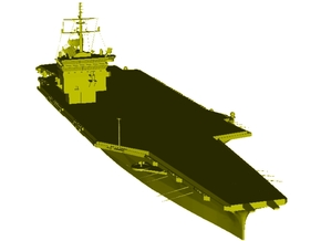 1/3000 scale USS Enterprise CV-65 aircraft carrier in Smooth Fine Detail Plastic