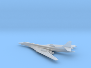 1/350 Tupolev Tu-160 in Smooth Fine Detail Plastic
