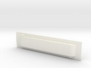 Virginia & Truckee Baggage #2 Roof  in White Processed Versatile Plastic: 1:87