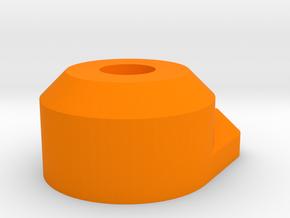Kossel XL Druckbettklemme Klein - Ndo Design in Orange Processed Versatile Plastic