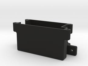 Xray Nt1 Receiverbox w/antenna holder in Black Natural Versatile Plastic
