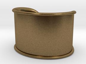Cosplay Cuff in Natural Bronze
