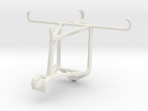 Controller mount for Shield 2017 & Allview P6 Lite in White Natural Versatile Plastic