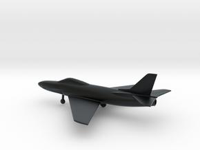 Saab J.32 Lansen in Black Hi-Def Acrylate: 1:144