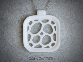 Surround ::: Square Pendant ::: v.01 in White Natural Versatile Plastic