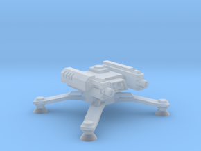 Spider Turret in Smooth Fine Detail Plastic