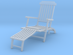 Deck Chair various scales in Smooth Fine Detail Plastic: 1:24