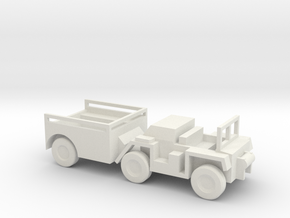 1/120 Scale M561 Gama Goat in White Natural Versatile Plastic