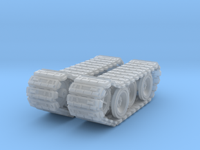 SD Tank Tiger 1 (Part 3/3) in Smooth Fine Detail Plastic