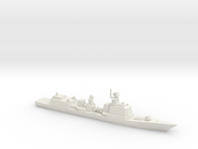 051B Destroyer (2016), 1/1800 in White Natural Versatile Plastic