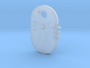 Sci-fi Door / Hatch in Smooth Fine Detail Plastic