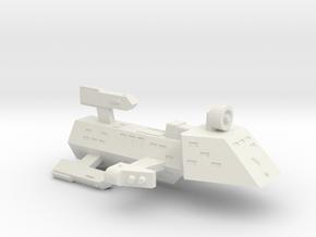 3788 Scale Kzinti Frigate (FF) SRZ in White Natural Versatile Plastic