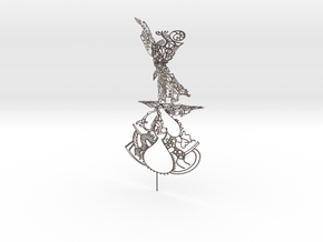 Orpheus in Polished Bronzed Silver Steel