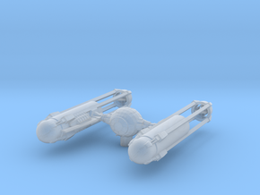 TYE-Wing - Engine Upgrade Variation in Smooth Fine Detail Plastic