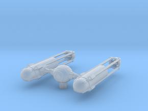 TYE-Wing - Regular  in Smooth Fine Detail Plastic