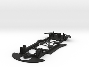 S18-ST4 Chassis for Scalextric Porsche 911 RSR SSD in Black Natural Versatile Plastic