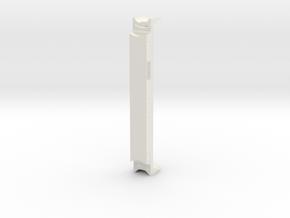 Chassis Eurostar Intermédiaire HO in White Natural Versatile Plastic