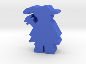 Game Piece, Bard in Blue Processed Versatile Plastic