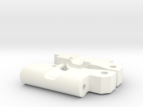 Custom RPM91 rear arm 0-0 mounts in White Processed Versatile Plastic