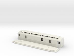 Do5 - Swedish passenger wagon in White Natural Versatile Plastic