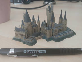1/1800 Hogwarts in Gray Professional Plastic