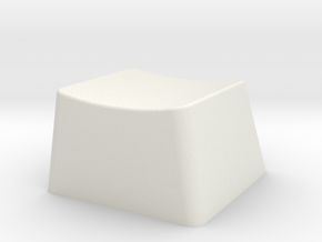 Giant Keycap in White Natural Versatile Plastic