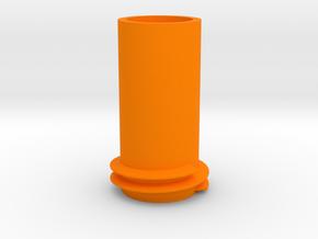 Nerf mega bigshock barrel attachment point in Orange Processed Versatile Plastic