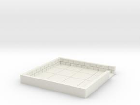 4x4_onedoor_d in White Natural Versatile Plastic
