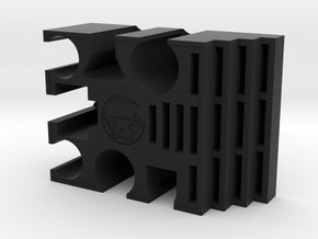 Token and Movement Stick Holder  in Black Natural Versatile Plastic
