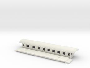 BCo5c - Swedish passenger wagon in White Strong & Flexible