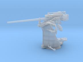 "1/45 DKM 3.7 cm/L83 (1.5"") SK C/30 Single Gun in Smooth Fine Detail Plastic"
