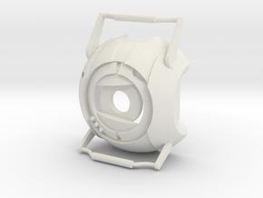 Wheatley_Portal 2 in White Natural Versatile Plastic