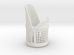 Emitter Shroud - Vox in White Natural Versatile Plastic