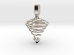 Functional Spinning top  in Platinum