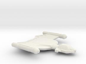 3788 Scale Romulan King Condor Battleship MGL in White Natural Versatile Plastic