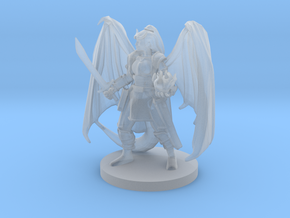 Tiefling Warlock 2 in Smooth Fine Detail Plastic