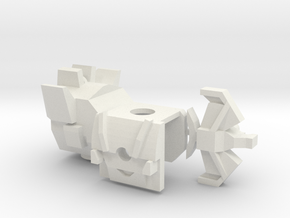 Creepy Sound Tech Set in White Natural Versatile Plastic