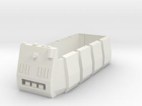 Rebel Troop Carrier 1:43 in White Natural Versatile Plastic