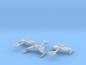5k trek Klingon D7 fleet in Smooth Fine Detail Plastic