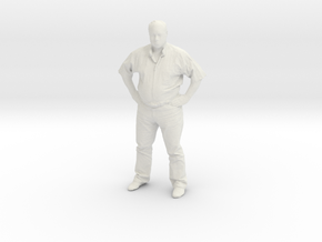 Printle F Homme Sydney Bechet - 1/18 - wob in White Natural Versatile Plastic