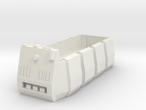Rebel Troop Carrier 1:72  with benches in White Natural Versatile Plastic
