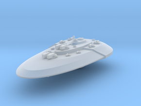 Ovali-Battleship in Smooth Fine Detail Plastic