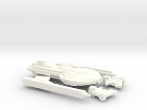 1000_ghorn_escort_frigate in White Processed Versatile Plastic