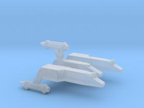 3788 Scale Lyran Serval War Cruiser Scout CVN in Smooth Fine Detail Plastic