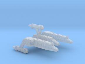 3125 Scale Lyran Serval War Cruiser Scout CVN in Smooth Fine Detail Plastic