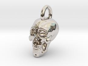Skull Pendant in Platinum